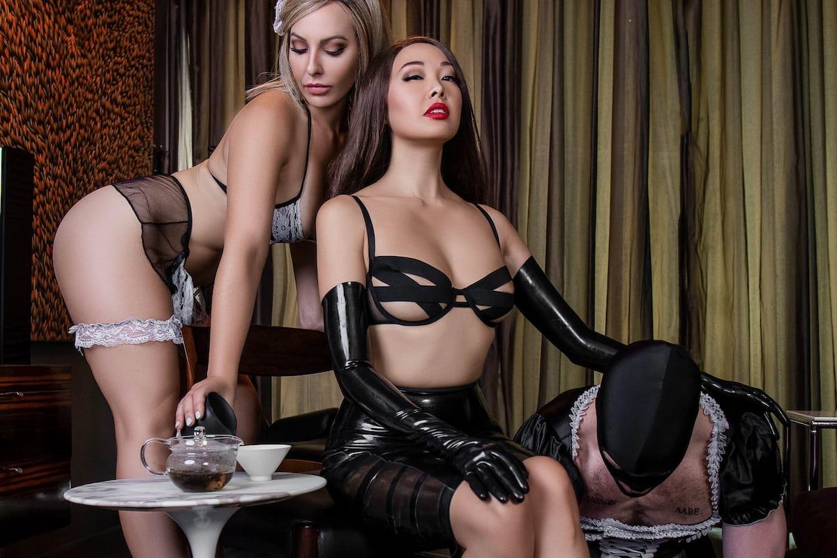 teakink Mistress Eva Oh tea BDSM